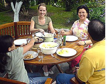 Bo med en lokal värdfamilj under din spanskakurs